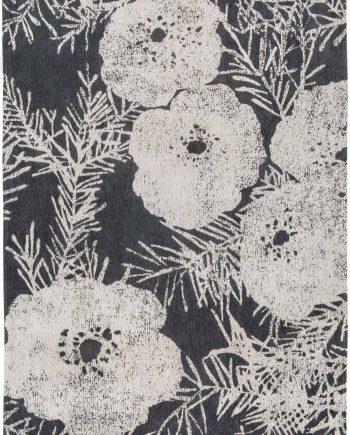 Louis De Poortere tappeti Romo LX 8741 Lomasi Charcoal