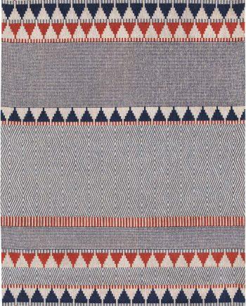 Louis De Poortere tappeti Villa Nova LX 8767 Tobi Indigo Tabasco