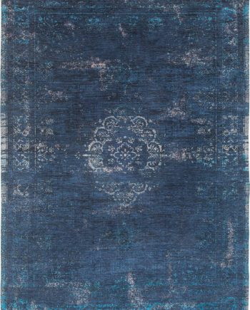 tappeti Louis De Poortere LX8254 Fading World Medaillon Blue Night