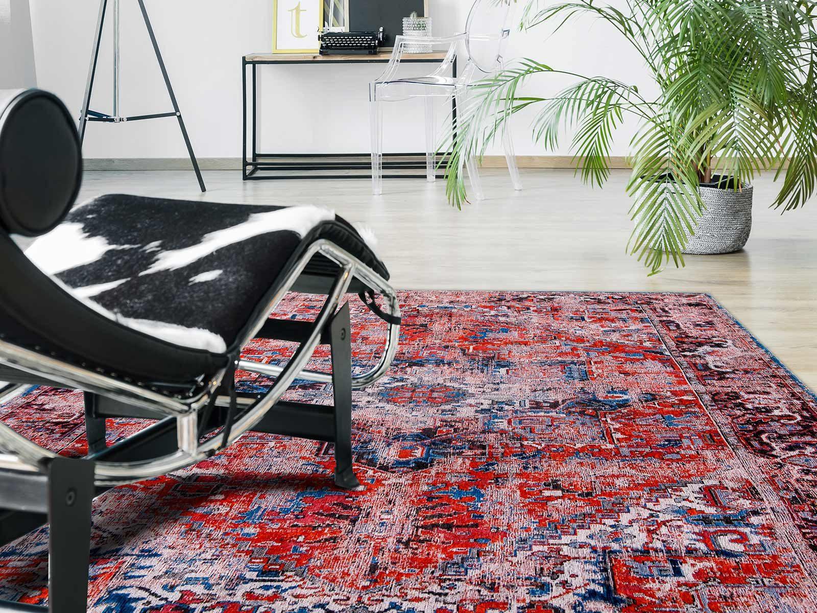 tappeti Louis De Poortere LX8703 Antiquarian Antique Heriz Classic Brick interior