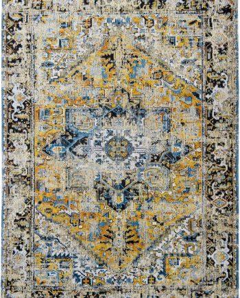 tappeti Louis De Poortere LX8704 Antiquarian Antique Heriz Amir Gold