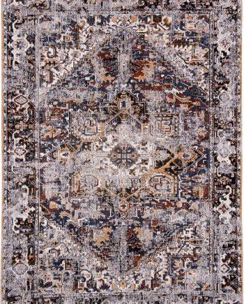 tappeti Louis De Poortere LX8707 Antiquarian Antique Heriz Divan Blue