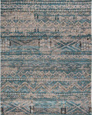Louis De Poortere tappeto LX 9110 Antiquarian Kilim Zemmuri Blue