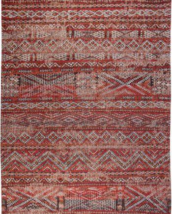 Louis De Poortere tappeto LX 9115 Antiquarian Kilim Fez Red